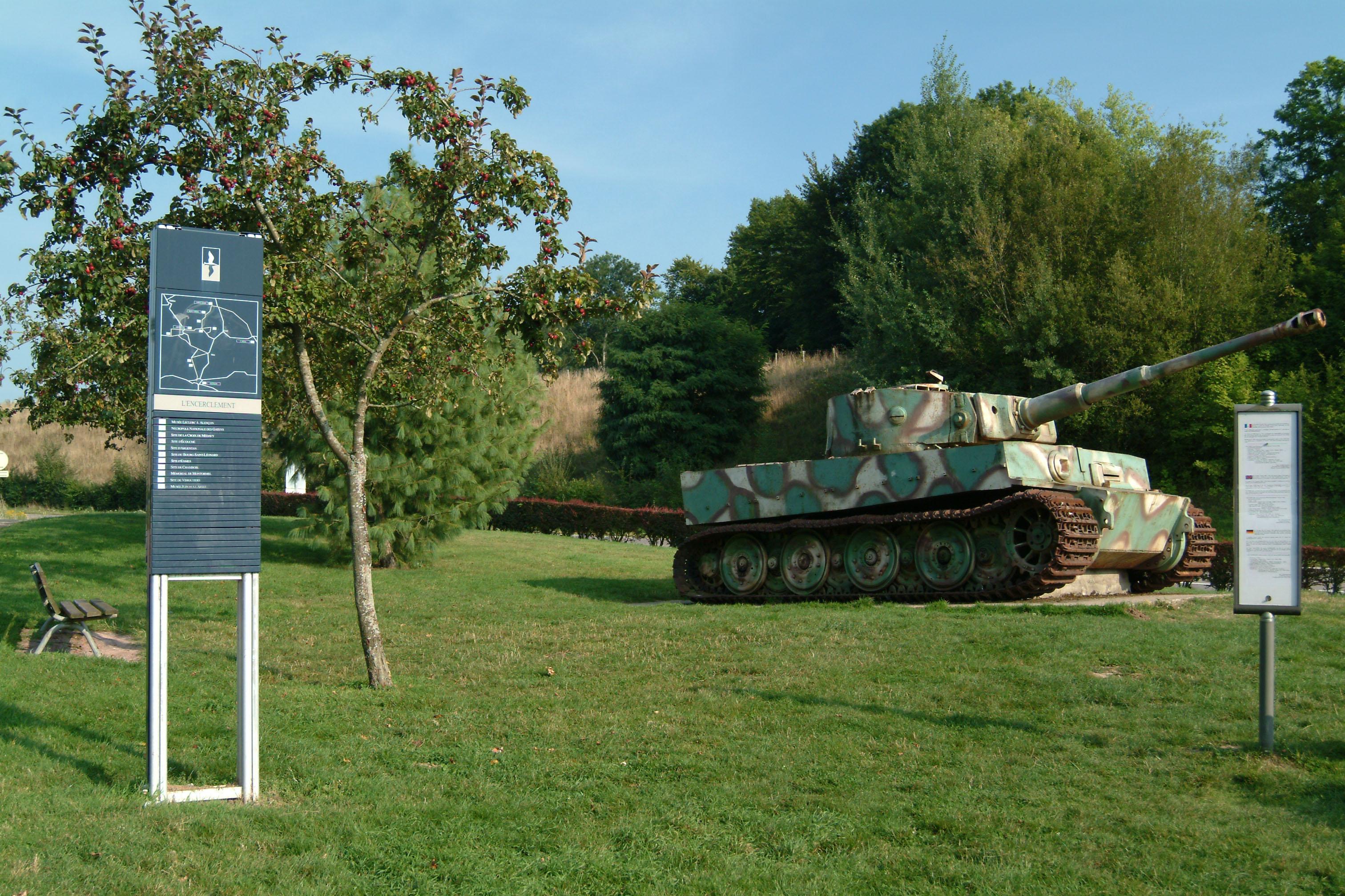 Le tigre de vimoutiers pays du camembert for L interieur du char de vimoutier