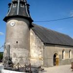 Eglise de Fresnay le Samson avant restauration